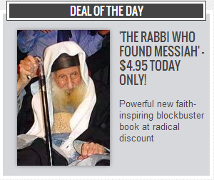 Rabbi Messiah Discounted